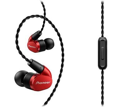 PIONEER SE-CH5T-R sluchátka / červená
