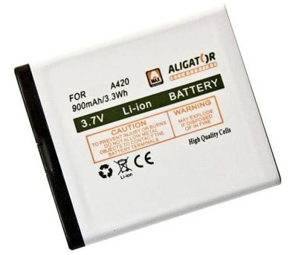 Aligator baterie A420/V500