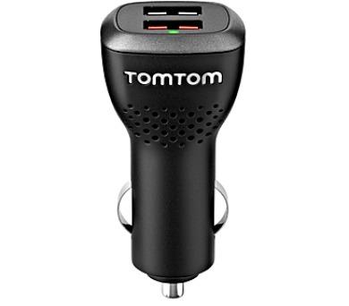TomTom USB rychlonabíječka do auta duální (2xUSB) + DOPRAVA ZDARMA
