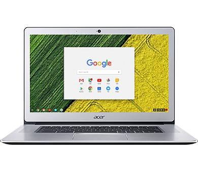 "Acer Chromebook 15 - 15,6T""/N4200/4G/64GB/Chrome stříbrný (NX.GPTEC.003)"