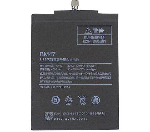 Xiaomi BM47 Original Baterie 4000mAh (Bulk)