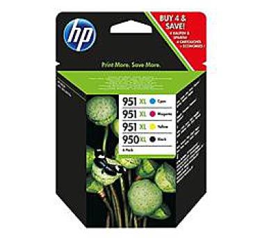 HP sada inkoustů 950XL/951XL OfficejetCMYK + DOPRAVA ZDARMA
