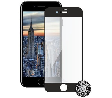 Screenshield APPLE iPhone 8 Tempered Glass Protection (full COVER black) (APP-TG3DBIPH8-D)