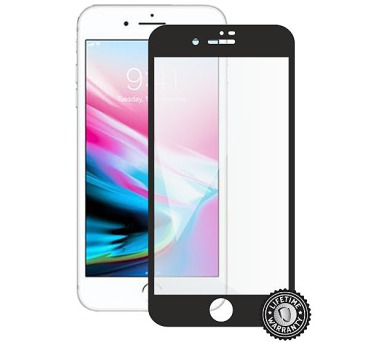 Screenshield APPLE iPhone 8 Plus Tempered Glass Protection (full COVER black) (APP-TG3DBIPH8P-D)