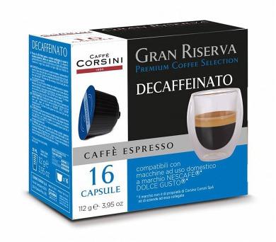 Kávové kapsle CAFFÉ CORSINI DCC469 ESPRESSO BEZKO
