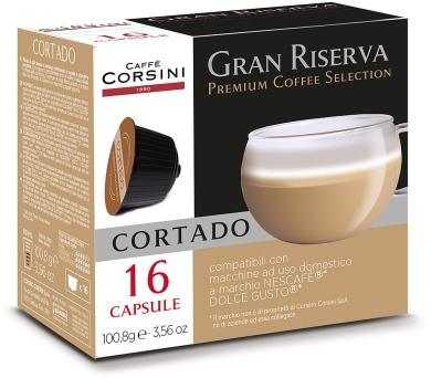 Kávové kapsle CAFFÉ CORSINI DCC471 CORTADO