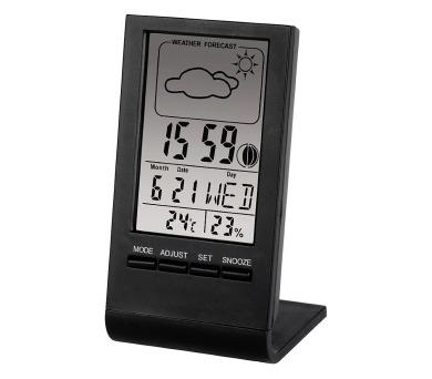 HAMA LCD teploměr/vlhkoměr TH100/ černý