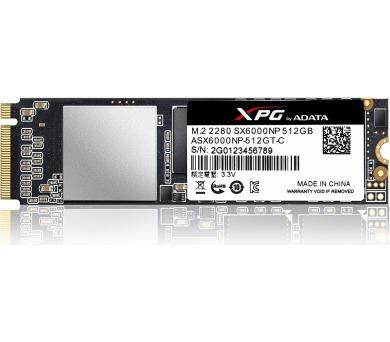 ADATA XPG SX6000 512GB SSD / Interní / M.2 2280 / / 3D Nand