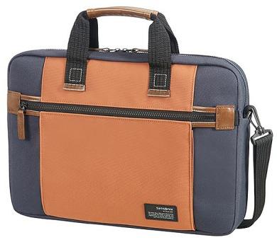 Samsonite Sideways Laptop Bag 15,6´´ Blue/Orange
