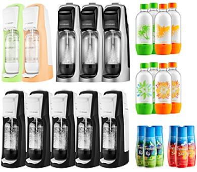 sada BESTSELLER výrobníky perl vody SODA SodaStream + DOPRAVA ZDARMA