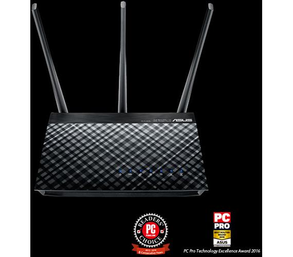 ASUS DSL-AC51 AC750 Dual-Band ADSL/VDSL Wi-Fi Modem Router with Parental Controls (90IG0471-BO3100)