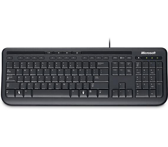 Wired Keyboard 600 USB Port CS Black (ANB-00020)