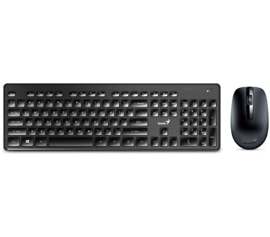 GENIUS Slimstar 8006/ Bezdrátový set 2,4GHz mini receiver/ USB/ černá/ CZ+SK layout/ SmartGenius App (31340002403)