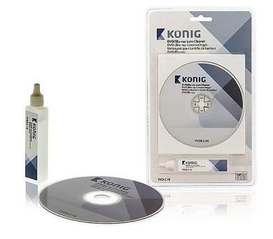 DVD & Blu-ray čisticí disk s čisticí kapalinou ND-TVDLC10
