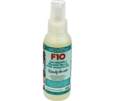 F10 sprej na rány s insekticidem 100ml