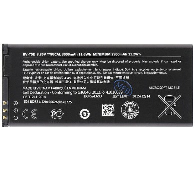 Nokia Baterie BV-T5E 2900mAh Li-Ion (Bulk)