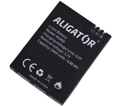 Aligator baterie RX400 eXtremo Li-Ion 2400mAh bulk