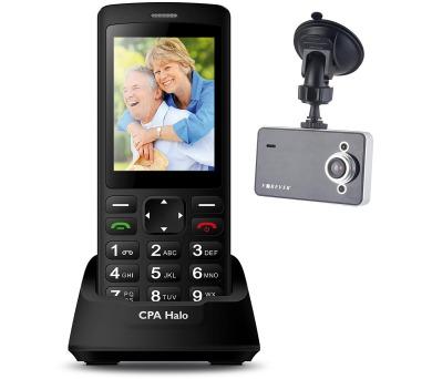 Mobilní telefon senior CPA HALO PLUS černý