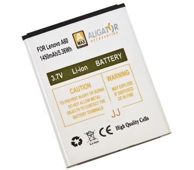 Aligator baterie pro Lenovo A356/368/390 1450mAh (BLA0266)