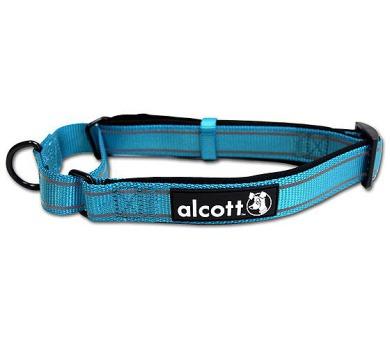 Alcott martingale reflexní obojek pro psy modrý