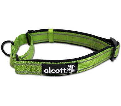 Alcott martingale reflexní obojek pro psy zelený