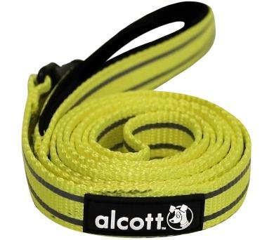 Alcott reflexní vodítko pro psy žluté