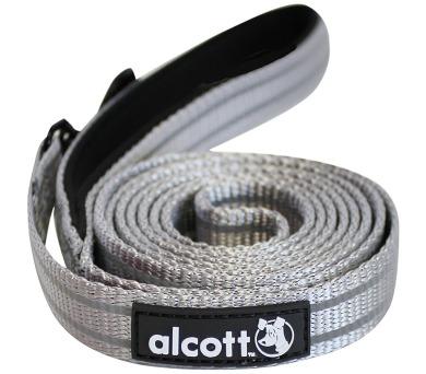Alcott reflexní vodítko pro psy šedé