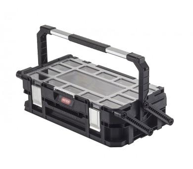 """Keter Smart Cantilever kufr na nářadí černý 56,5x31,7x16,1cm 22"""""""