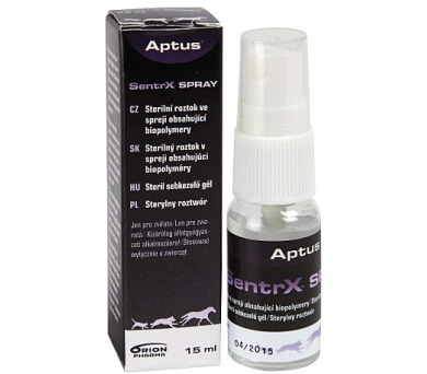 Aptus SentrX VET Spray 15ml Orion Pharma Animal Health