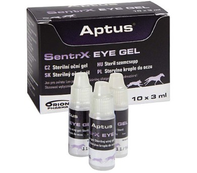Aptus SentrX VET EYE GEL 10x3ml Orion Pharma Animal Health + DOPRAVA ZDARMA