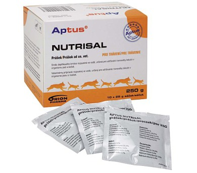 Aptus Nutrisal plv. 10x25g Orion Pharma Animal Health