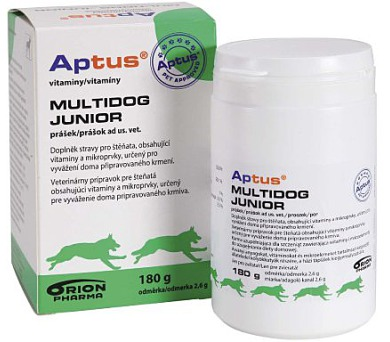 Aptus Multidog junior 180g Orion Pharma Animal Health