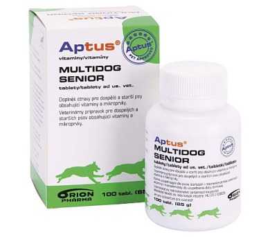 Aptus Multidog senior 100tbl (starší psi) Orion Pharma Animal Health