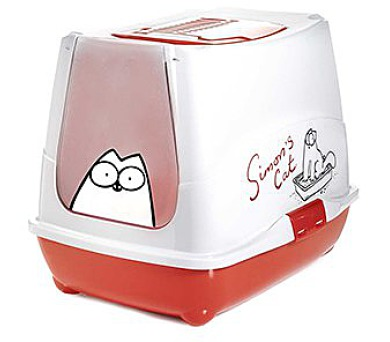 Karlie-Flamingo Toaleta SIMONS pro kočky 50x39,5x37,5cm + DOPRAVA ZDARMA