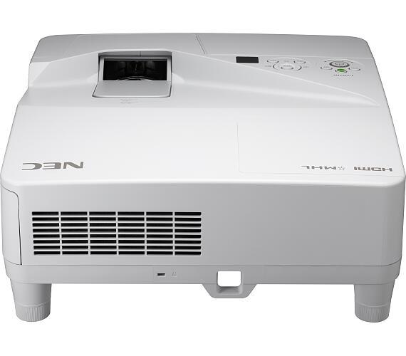 NEC LCD proj. UM301W-3000lm,WXGA,LAN,UST + DOPRAVA ZDARMA