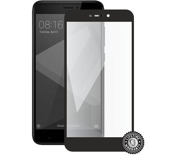 Screenshield XIAOMI RedMi 4X Global Tempered Glass protection (full COVER black) (XIA-TG25DBREDMI4XG-D)