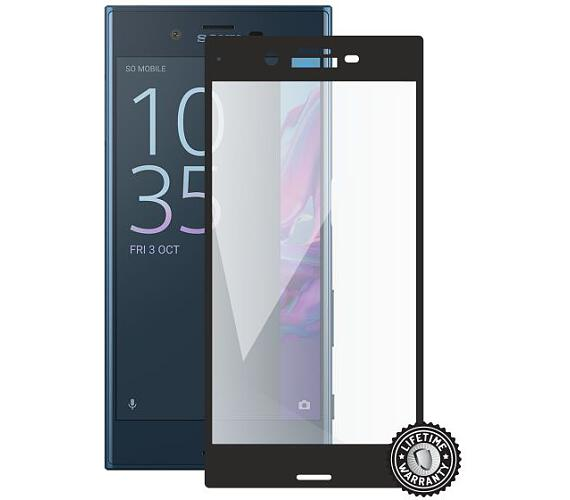 Screenshield SONY Xperia XZ F8331 Tempered Glass protection (full COVER black)