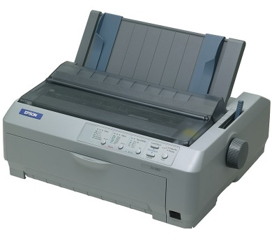 EPSON jehličková FX-890II - A4/2x9pins/612zn/1+6kopií/USB/LPT (C11CF37401)
