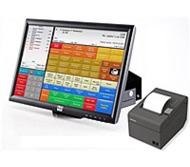 """LYNX Pokladní systém 20"""" s Conto Standard + Rezervace Windows10 + zdarma instalace HW u zákazníka"""