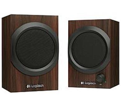 Logitech® Audio System 2.0 Z240 - EMEA - Wooden + DOPRAVA ZDARMA