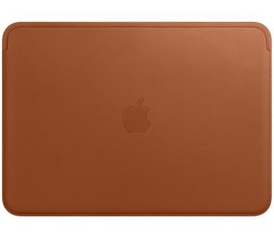 Leather Sleeve pro MacBook 12 - Saddle Brown + DOPRAVA ZDARMA