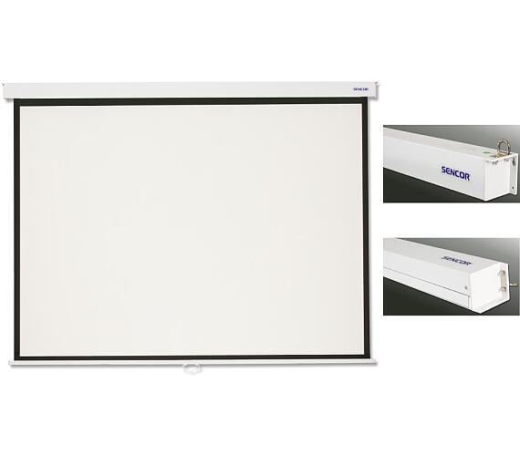 SMS N279W projekční plátno man Sencor + DOPRAVA ZDARMA