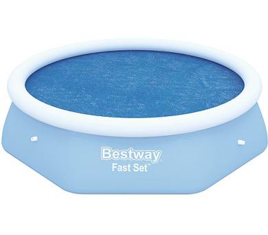 Solární plachta na bazén - kruh 244cm