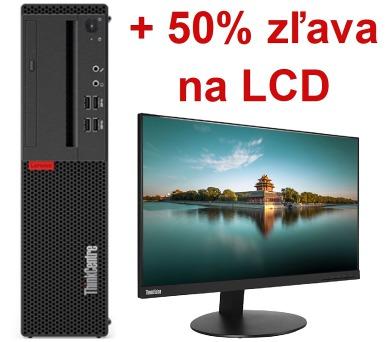 TC M710s SFF i5-7400/8G/16G+1TB/INT/DVD/W10Pro + DOPRAVA ZDARMA