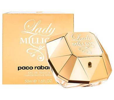 Toaletní voda Paco Rabanne Lady Million