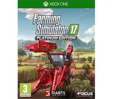 XBOX ONE - Farming Simulator 17 - Platinum Edition