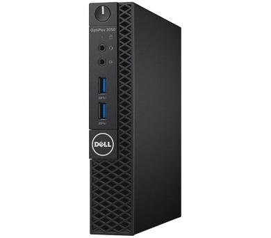 Dell PC Optiplex 3050U Micro i5-7500T/8G/256GB SSD/WiFi/DP/HDMI/W10P/3RNBD/Černý + DOPRAVA ZDARMA
