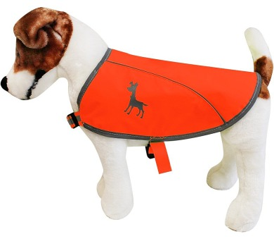 Alcott reflexní vesta pro psy oranžová