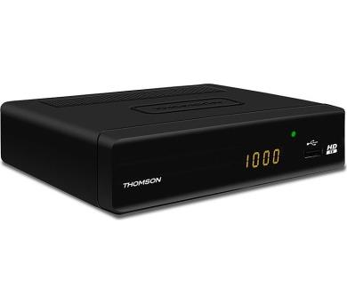 THOMSON DVB-T přijímač THT 504 bez displeje/ Full HD/ EPG/ HDMI/ USB/ SCART/ černý + DOPRAVA ZDARMA