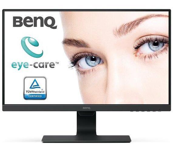 "BenQ LCD BL2480 Black 23,8""W/IPS LED/FHD/12M:1/5 ms/DP/HDMI/repro/Brightness Intelligence (9H.LH1LA.TBE)"